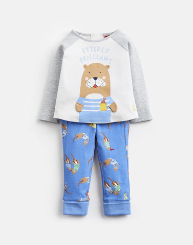 Joules 2 Piece Outfit Otterly Brilliant