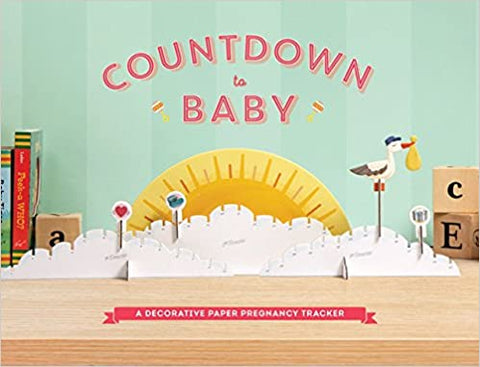 Countdown to Baby - Tabletop Pregnancy Tracker