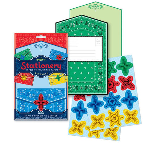 Eeboo Stationery Set Bandana