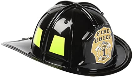 Fire Fighter Helmet Black