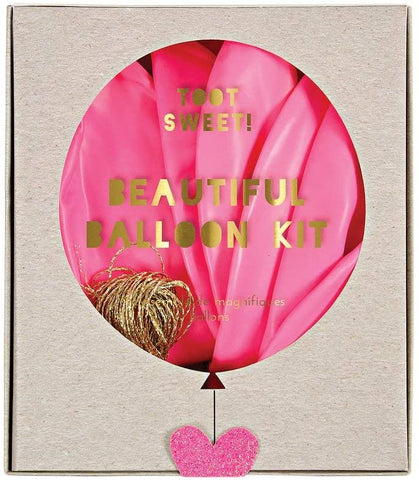 MeriMeri Beautiful Balloon Kit Pink