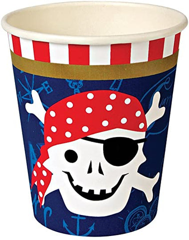 MeriMeri Paper Cups Pirate Set of 12