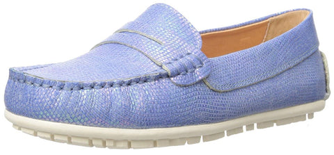Umi Loafers Blue Iridescent