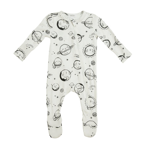 Angel Dear Huggable Planets Zipper Footie