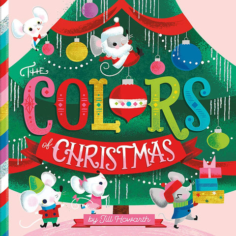 Colors of Christmas Board Book