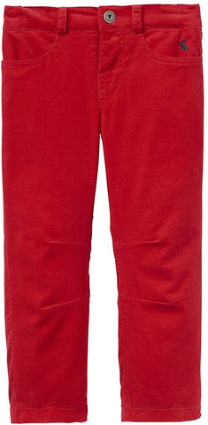 Joules Pants Red Corduroy