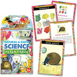 Eeboo Natural And Earth Science Flash Cards