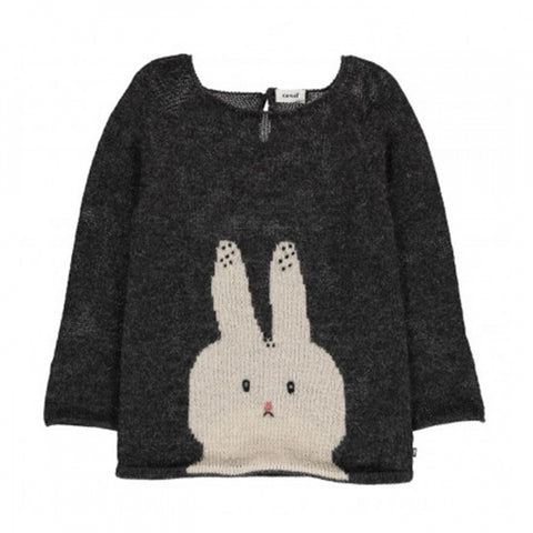 Oeuf Pullover Sweater Bunny Grey