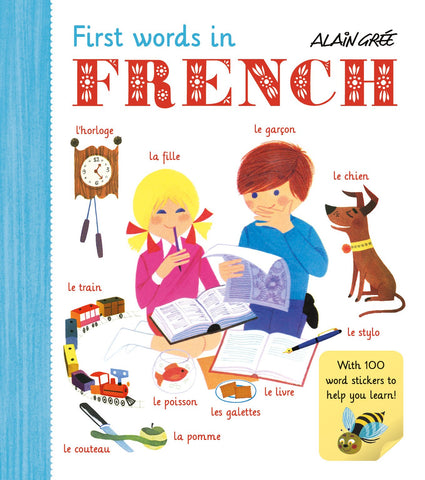 Alain Gree First Words In French