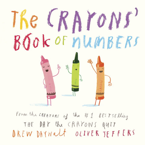 The Crayons Book of Numbers Board Book