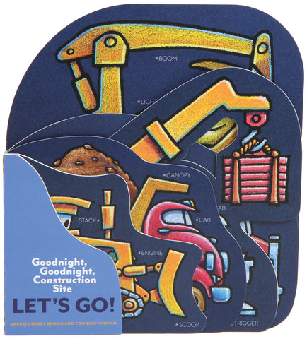 Let's Go Goodnight Goodnight Construction Site Board Book