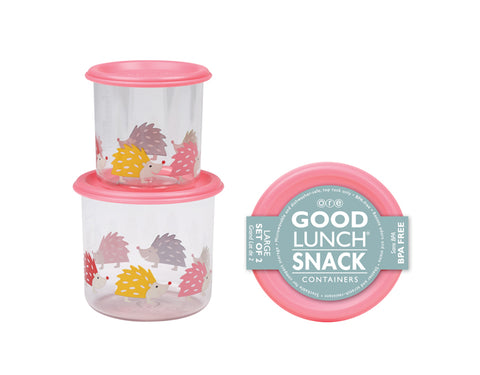 Ore Good Lunch Snack Containers Hedgehogs