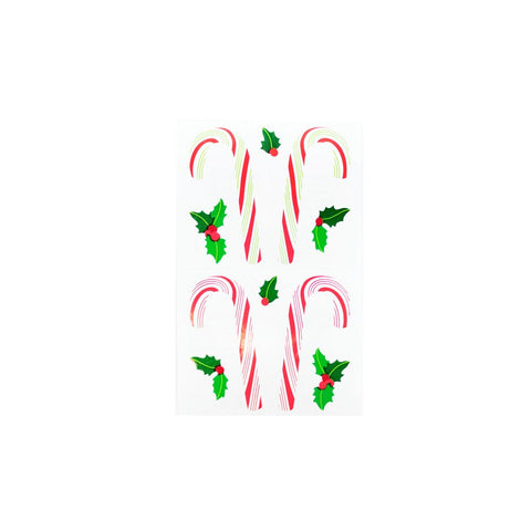 Mrs.Grossman's Candy Cane Stickers