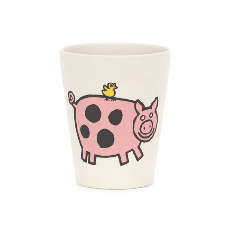Jellycat Bamboo Cup Sheep Pig