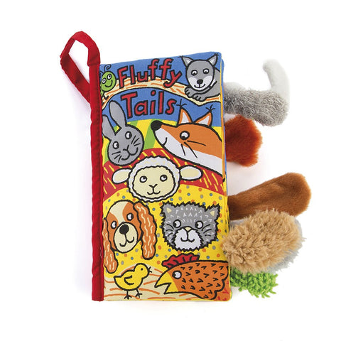 Jellycat Crinkle Book Fluffy Tails