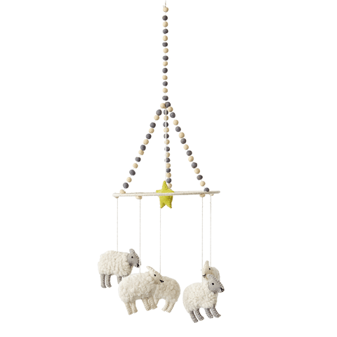 Petit Pehr Wool Mobile Counting Sheep