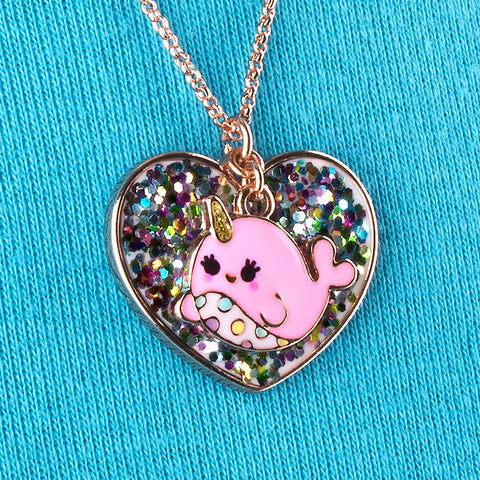 Charm It Narwhal Necklace