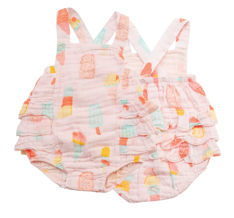 Angel Dear Cool Sweets Ruffle Sunsuit