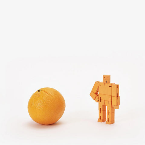 Cubebot Areaware Micro Small Orange 00291