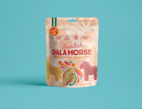 Candy People Swedish Dala Horse Gummies