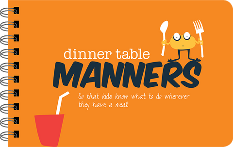 Papersalt Book Dinner Table Manners
