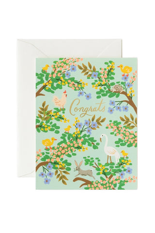 Rifle Paper Company Card - Congrats