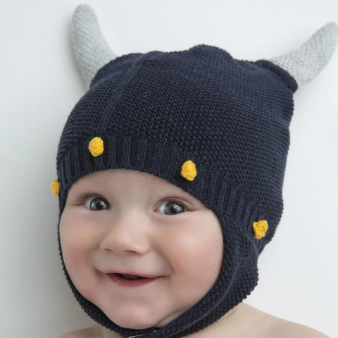 Angel Dear Viking Hat Navy