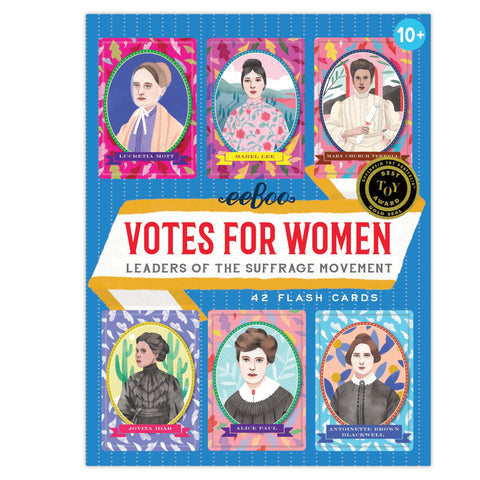 Eeboo Votes For Women Flash Cards