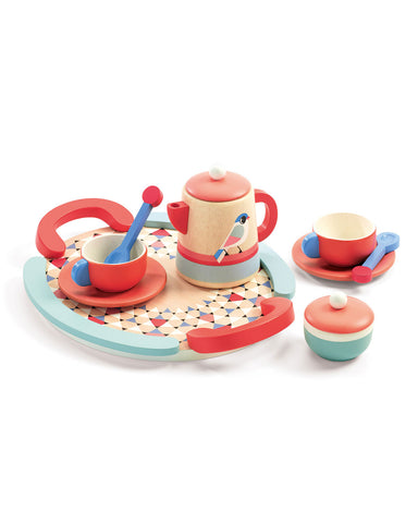 Djeco Tea Time Wooden Play Set
