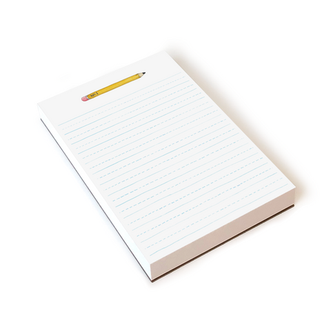 E. Frances Notepad 150 Pages Pencil