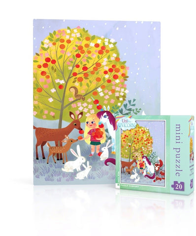Uni The Unicorn Puzzle Forest Creatures 20 Piece Mini