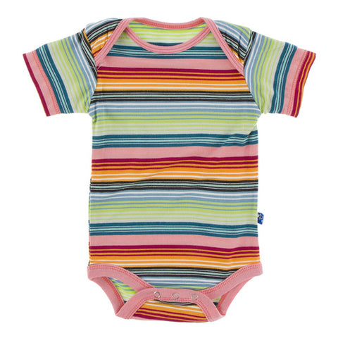 Kickee Pants Onesie Cancun Stripe