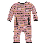 Kickee Pants Coveralls Desert Rose Indian Train