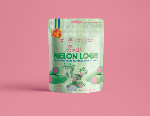 Candy People Sour Melon Logs