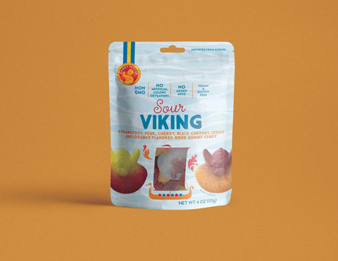 Candy People Sour Viking Gummies