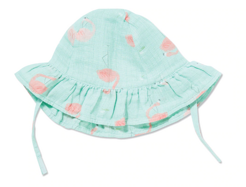 Angel Dear Sun Hat Flamingo