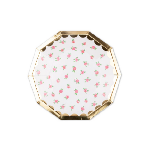 Daydream Society Lola Dutch Small Roses Plates pack of 8