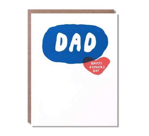 Egg Press Dad Card