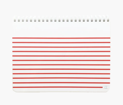 Appointed Kids Stripe Sketch Pad