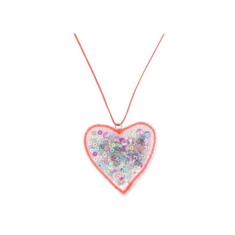 MeriMeri Necklace Confetti Heart