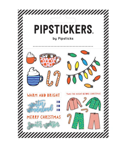Pipsticks Sticker Sheet - Night Before Christmas