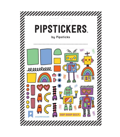 Pipsticks Sticker Sheet - Do the Bop Boop Beep