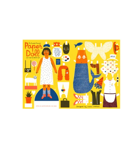 The Printed Peanut Paper Doll to Cut Out and Dress
