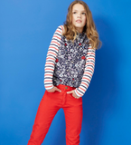 Joules Skinny Jeans Pants Red