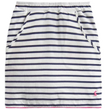 Joules Skirt Reversible Jersey Navy Stripe