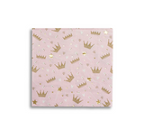 Daydream Society Hello Lucky Pink Crown Napkins