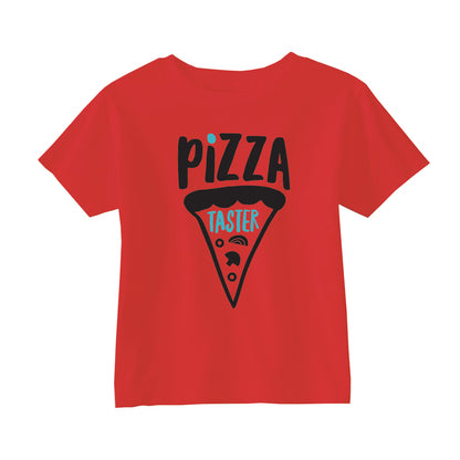 Rock Scissor Paper SS Tee Shirt Red Pizza Taster