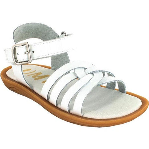 Umi Leather Sandals White
