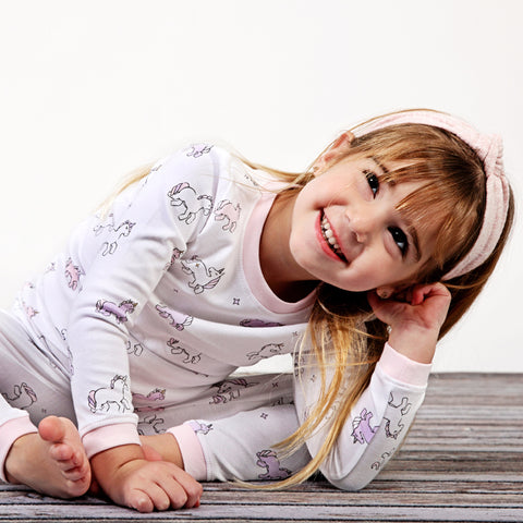 Noomie 2 Piece PJ set Unicorn