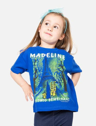 Out Of Print Tee Shirt Madeline Blue